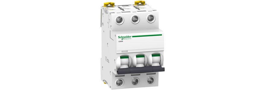 Disjoncteurs magnéto thermiques ic60